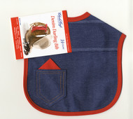 Charles Craft - 14 Ct Denim Darling Red Bib