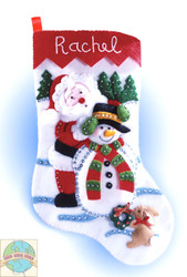 Design Works - Winter Wonderland Felt Stocking