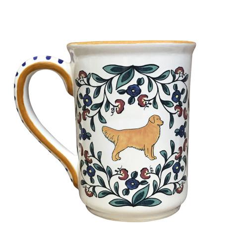 Handmade Golden Retriever Mug from shepherds-grove.com