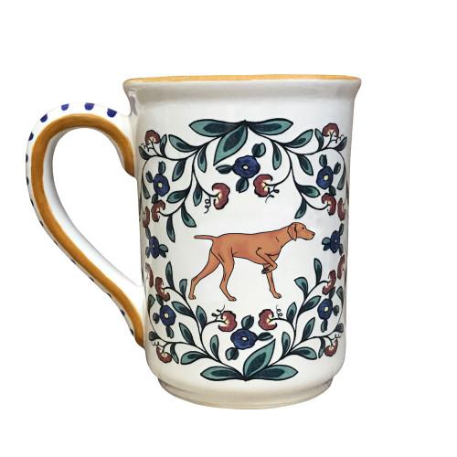 Handmade Vizsla mug from shepherds-grove.com