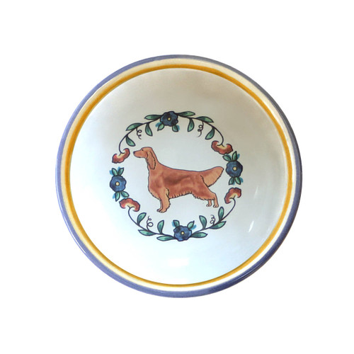 Irish Setter ring dish / dipping bowl from shepherds-grove.com