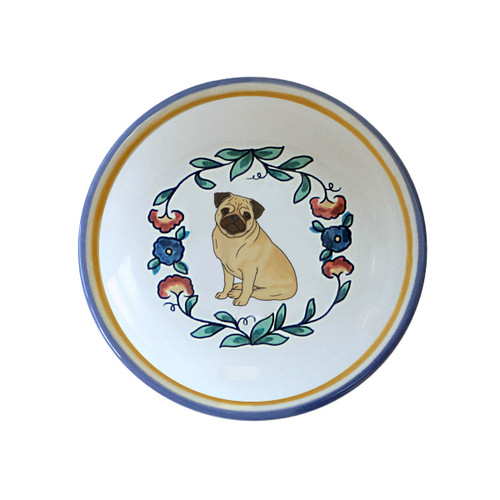 Fawn Pug ring dish / dipping bowl from shepherds-grove.com