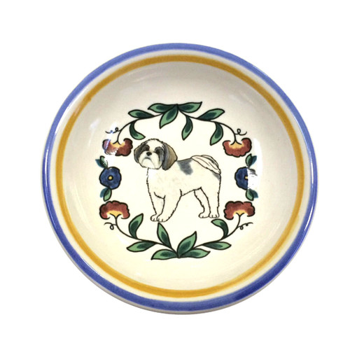 Shih Tzu ring dish / dipping bowl from shepherds-grove.com