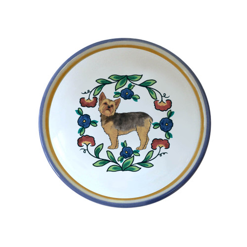Puppy cut Yorkshire Terrier ring dish / dipping bowl from shepherds-grove.com
