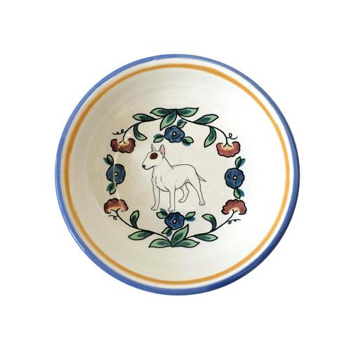 Bull Terrier ring dish / dipping bowl from shepherds-grove.com