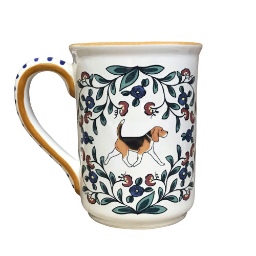 Handmade Beagle mug from shepherds-grove.com