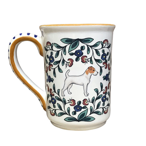Handmade Jack Russell mug by shepherds-grove.com