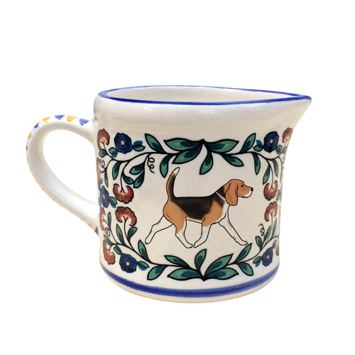 Beagle creamer - handmade by shepherds-grove.com