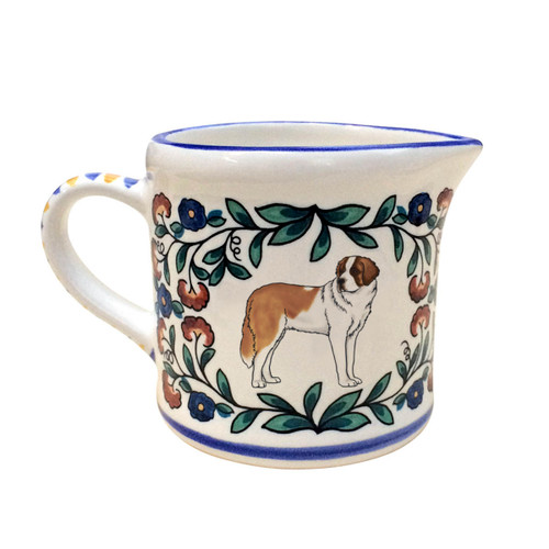 Saint Bernard Creamer Pitcher