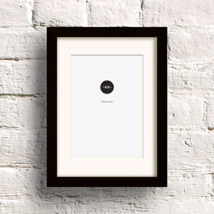 The Button Ninja print by Dig The Earth