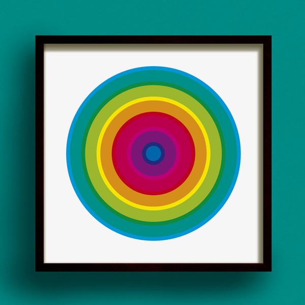 Hoopla! No.1 print by Dig The Earth