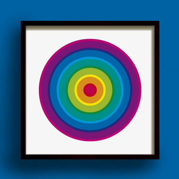 Hoopla! No.3 print by Dig The Earth