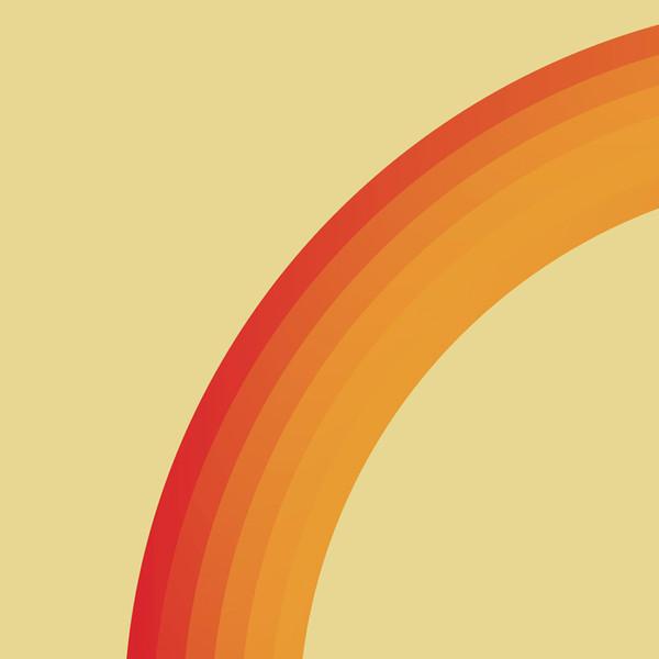 Orange Loop No.2 print (detail) by Dig The Earth