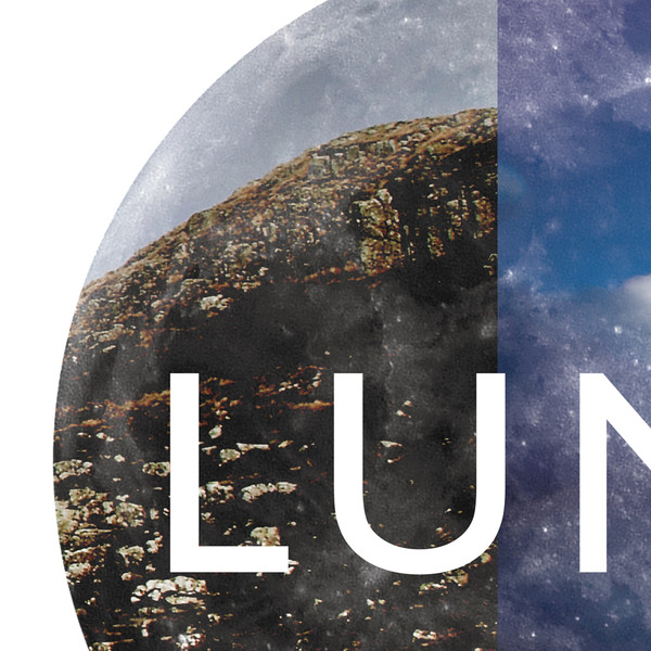 Luna Landscape print (detail) by Dig The Earth
