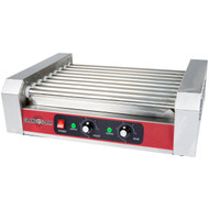 NEW Quality 24 Hot Dog Roller Grill with 9 Rollers 110V