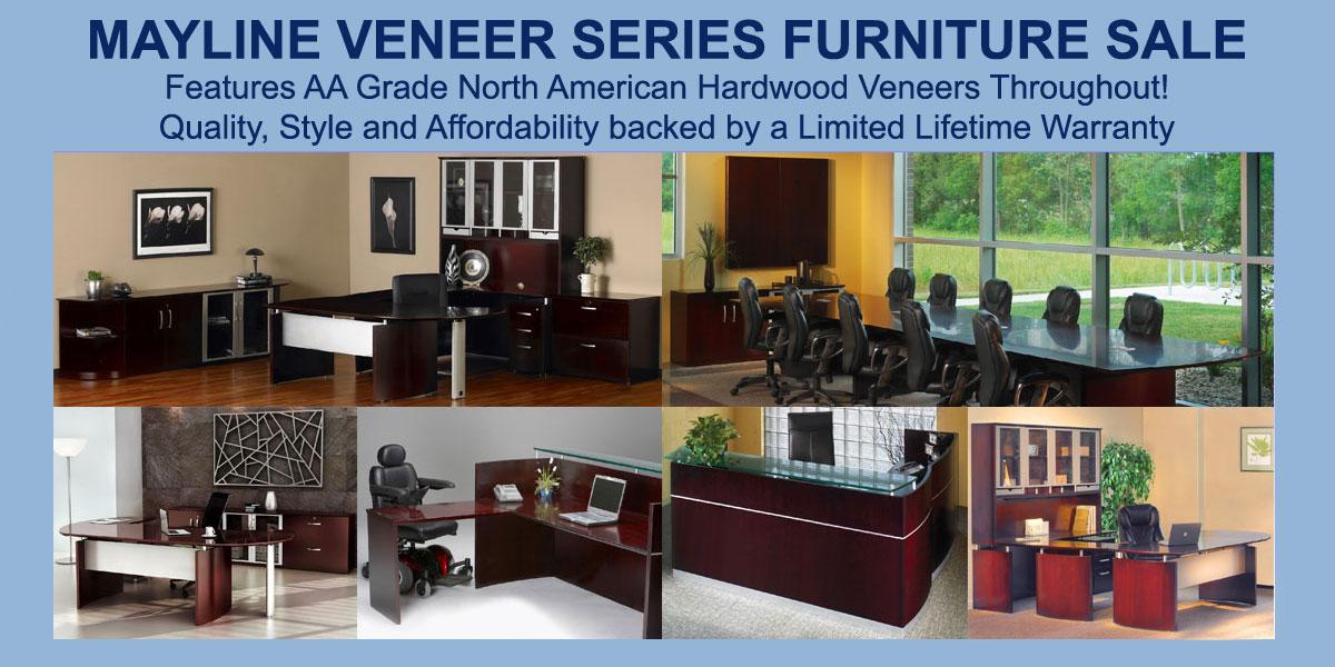 Mayline Veneer Series Furniture Sale, Free Shipping!