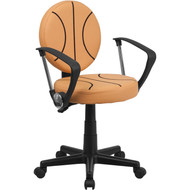 Flash Furniture Basketball Task Chair with Arms - BT-6178-BASKET-A-GG