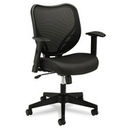 BasyxMid-Back Chair with Fabric Seat - VL551VB10