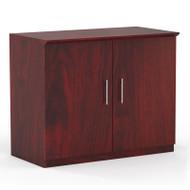 * MONTHLY SPECIAL! Mayline Medina Laminate Storage Cabinet Mahogany - MSC-LMH