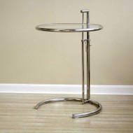Wholesale Interiors Balthazar Glass Top Accent Table - 316F