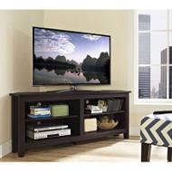 "Walker Edison Essential 58"" Corner TV Console, Espresso - W58CCRES"
