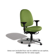 Cramer Triton Max Desk-Height Large Back Chair 7-way Fabric - TMLD7