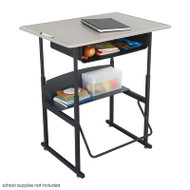 Safco AlphaBetter Desk with Book Box - 1207BE