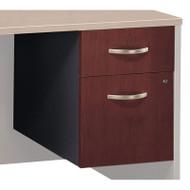 BBF Bush Series C File Cabinet 3/4 Pedestal Hansen Cherry Assembled - WC24490SU