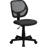Flash Furniture Mid-Back Gray Mesh Task Chair and Computer Chair - WA-3074-GY-GG