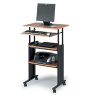 Safco Muv Height Adjustable Workstation for Stand-Up Computing - 1929