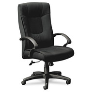 Basyx Fabric High-Back Executive Chair with 5-Star Base - VL441VC