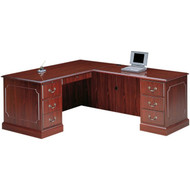 HON 94000 Series L Shaped Desk Workstation with Right Return - HONPackageB