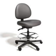 Cramer Triton High-Height Medium Back Chair 4-way Vinyl - TRMH4-V