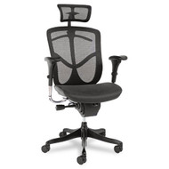 Alera EQ Series Ergonomic Multifunction High-Back Mesh Chair - EQA41ME10B