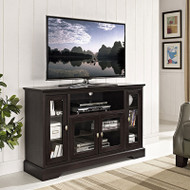 "Walker Edison Highboy 52"" TV Console, Espresso - W52C32ES"