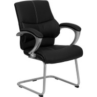 Flash Furniture Black Executive Side Chair - H-9637L-3-SIDE-GG