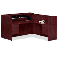 HON 10500 L Reception Desk with Return Screen, Return on Right side - 105Package2