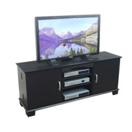 Walker Edison Jamestown Wood TV Console 60 Black Finish - W60C73BL