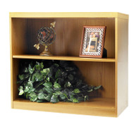 * MONTHLY SPECIAL! Mayline Aberdeen Bookcase 2-Shelf Maple- AB2S36-LMA