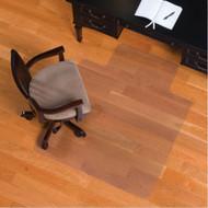 ES Robbins Hard Floor Straight Edge Chair Mat 45x53 - 131823