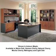 BBF Bush Series C Package Executive U-Shaped Bowfront Desk - SC9
