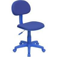 Flash Furniture Blue Fabric Ergonomic Task Chair -  BT-698-BLUE-GG