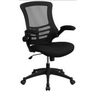 Flash Furniture Executive Swivel Black Mesh Chair - BL-X-5M-BK-GG