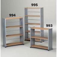 Mayline Eastwinds Bookcase 3-Shelf - 993