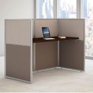 """BBF Bush Easy Office Straight Desk 60"""" Closed - EOD260MR-03K"""