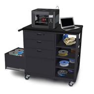 Marvel Mobile 3D Printer Deluxe Workstation with 3 Drawers - MVG3624BKBK-3