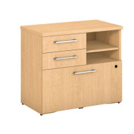 "BBF Bush 400 Series Lower Piler Filer Cabinet 30"", Natural Maple - 400SFP30AC"