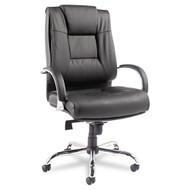 Alera Ravino Big & Tall Series High-Back Swivel Tilt Leather Chair - RV44LS10C
