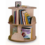 Whitney Brothers Two Level Carousel Book Stand / Shelf - WB0502