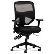Basyx by HON HVL532 Black Mesh High-Back Chair - BSXVL532MM10